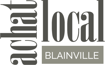 Achat local Blainville logo