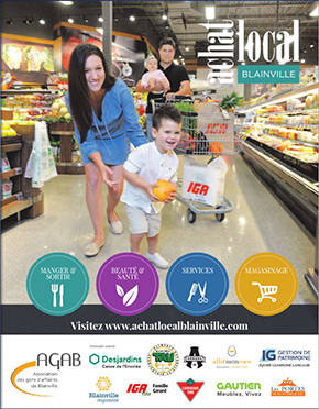 Brochure Achat Local Blainville